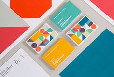 The Community Shares Company by Fieldwork #graphic design #print #colourful #shapes