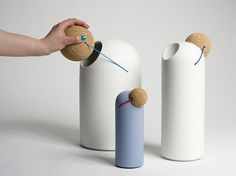 'Clown Nose' bins by Tomas Kral (CH) @ Dailytonic #design