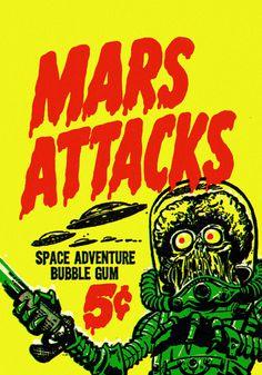1962 ... war of the world's gum! | Flickr Photo Sharing!