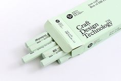 Craft Design Technology, Japan | ONEEIGHTNINE #packaging #logo