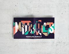 Heerlen Murals Festival on Behance #streetart #design #graphic #identity #murals #typography