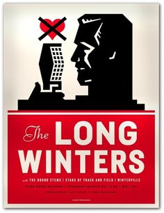 The Long Winters : Mike Krol #mike #krol #poster