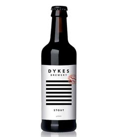 Dykes Brewery Bottle #packaging #beer