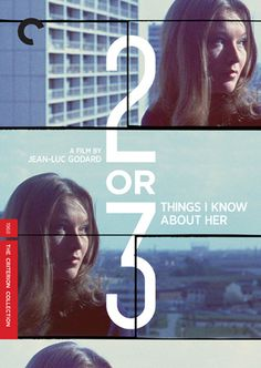 2 or 3 Things I Know About Her (1967) The Criterion Collection - video back ground in top area? #film #movie #dvd