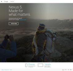 http://google.com/nexus #responsive #web #fullscreen