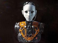 byDMITRIY RABOCHIY #android #robot #female