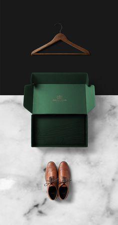 Malik Bros - Tailor Goods branding corporate design by Sebastian Bednarek new minimal beautiful green mindsparkle mag business card cardboar