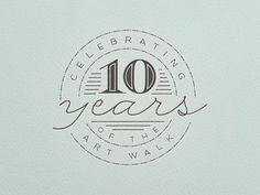 10 Years #badge #script