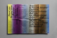 #Poster #invite #italic #typography #gradient