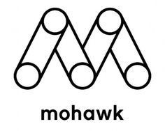 Mohawk Connects the Dots - Brand New #logo