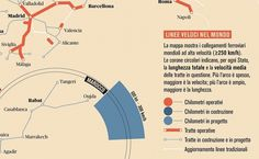 We Love Infographics — Treni ad alta velocità by Francesco Franchi
