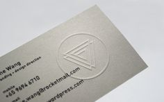 Personal Name Cards on Behance