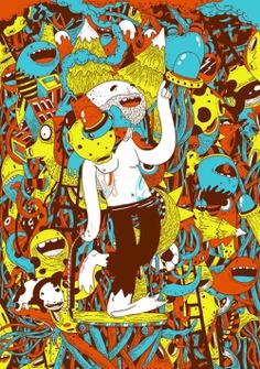 La ilustración de Oscar Llorens - Ilustración