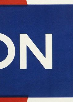 London N | Flickr - Photo Sharing! #signage #london #johnston #underground