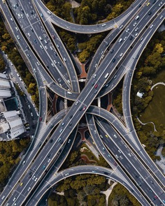 Shanghai From Above: Stunning Drone Photography by Liu Qian