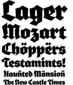 #typ3 #typeface #blackletter #specimen