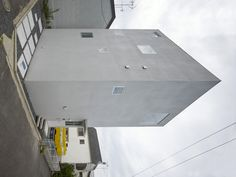 House in Nishiochiai by Suppose Design Studio #modern #design #minimalism #minimal #leibal #minimalist