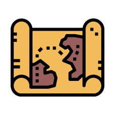 See more icon inspiration related to map, maps and location, paper roll, map pointer, map point, map location, placeholder, pointer, pin and location on Flaticon.