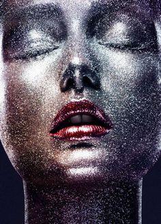 Andreea Diaconu by Ben Hassett