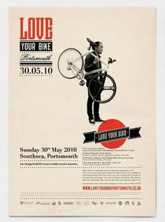 Posters I Want / . #bicycle #design #graphic #vintage #bike #poster