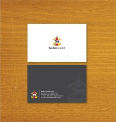 Funfair World – Business Card Designs | UK Logo Design #business cards #fun fair
