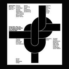 Re:Collection Oxley Bros Ad #representation #graphic #minimal #modern
