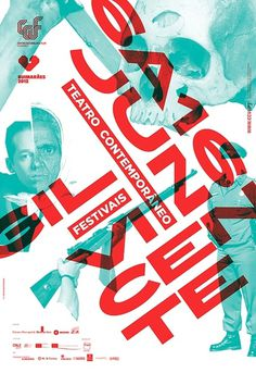 Festivais GIL VICENTE 2012 on the Behance Network #gil #teatro #festival #vicente #martino #jana
