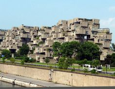 Habitat 67 (Montreal, Canada) #building #house #interesting