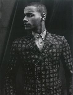 Shades of Blackness #man #suit #black #photograph