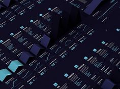 STOCK CHECK on the Behance Network #information #visualisation #info #data #vis