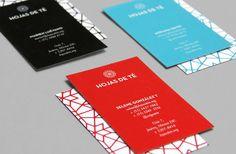 UFFA - Hojas de Té #uffa #business #branding #mexico #print #identity #cards