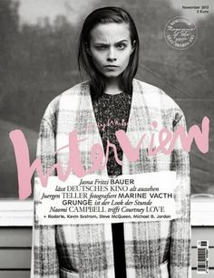 Interview (Germany) #cover #interview #magazine #fashion