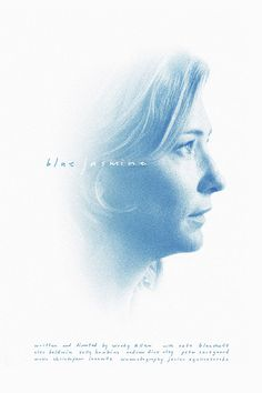 Blue Jasmine #movie #allen #smith #jasmine #woody #poster #film #blue #sam