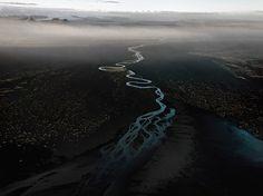 Dyralaekir River on Myrdalssandur Iceland, 2012