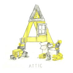 Children's Illustrated Alphabet by Hannah Williams