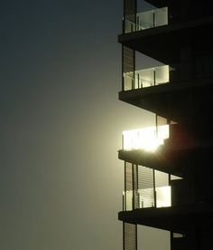 sleepless ink: Downtown Balcony #sunshine #sleeplessink #balcony #block #apartment