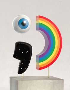 Craig & Karl - Emoticon #sculpture #art