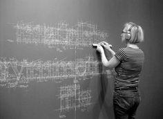 Detailed Chalk Type by Liz Collini | Creative Greed #type #chalk #liz collini