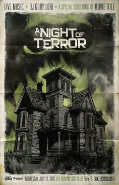 JUSTIN ERICKSON - illustration + graphic design #illustration #horror #poster