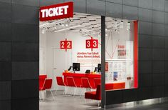 BVD — Ticket #bold #travel #dots #signage #retail #numbers #helvetica #typography