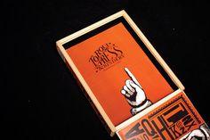 Torque WoodType Packaging- TheDieline.com - Package Design Blog #packaging #type