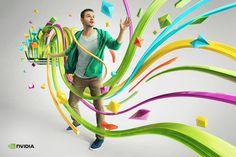 Graphic design inspiration #digital #illustration #art