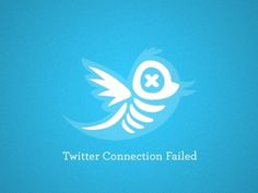 Dribbble - Twitter Fail by Jo Albright #fail #illustration #twitter #xray #bones