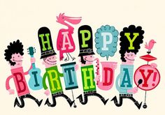 Esther Aarts » Happy Birthday! #illustration