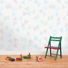 Stunning Patterned Wallpaper #design #pattern