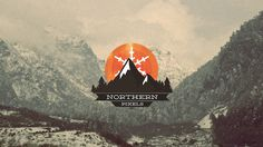 Northern Pixels by Everlong Design #sun #mountain #sweden #north #snow #pixel #nature #pixels