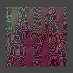 Dark side of typography : Photo #cover #album #vinile