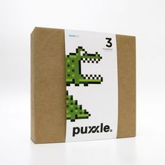 puxxle — Alligator #puxxle #yoyo #puzzle #alligator #pixel #gaming #art