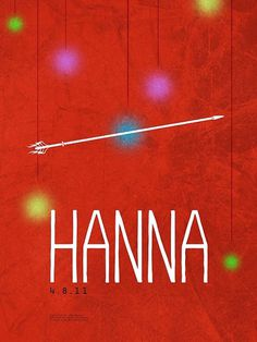The Editions: Hanna #type #movie #hanna #poster