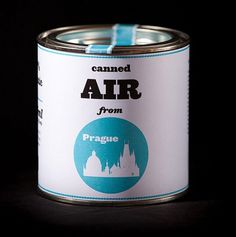 Onestep Creative - The Blog of Josh McDonald » Canned Air from Prague